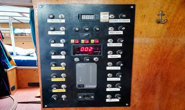 El cálculo del consumo eléctrico a bordo.