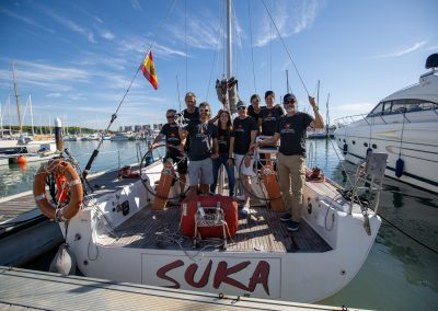 Stella Oceani-Astronavigation Competition-Sailboat Suka