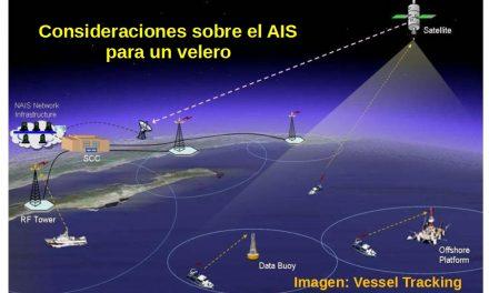 Consideraciones sobre el AIS para un velero