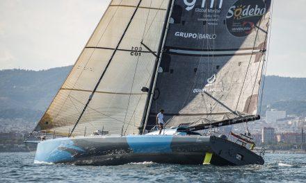 Vendée Globe 2020. Didac Costa, con el «One Planet One Ocean» ya en Les Sables, celebra el crowdfunding
