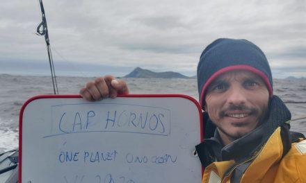 Didac Costa cruza el Cabo de Hornos por tercera vez