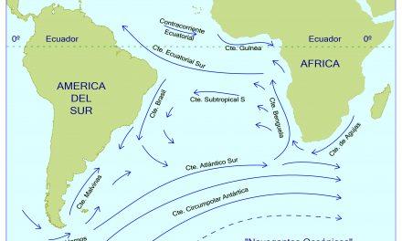 Las corrientes del Atlántico Sur